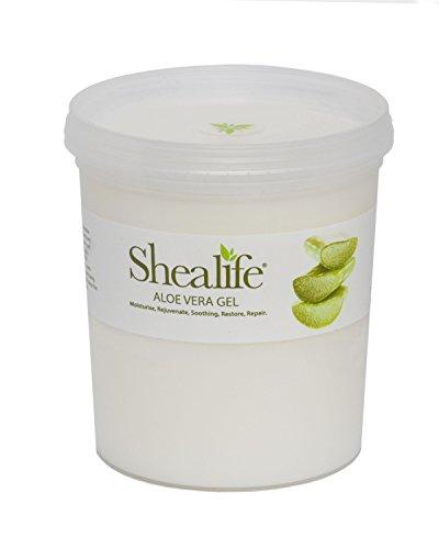 Gel di aloe vera, per idratare e trattare la pelle secca: Idratante, ringiovanente, lenitivo, ristrutturante, barattolo da 1000 ml