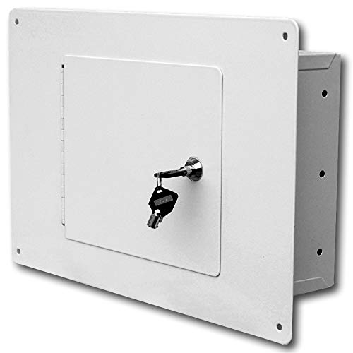 Homak Between the Studs High-Security Steel Wall Safe