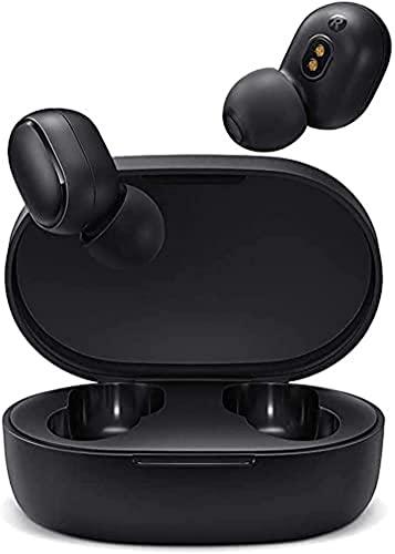 Xiaomi Mi True Wireless Earbuds Basic 2, Airdots 2 Bluetooth-Kopfhörer, kabellose Bluetooth 5.0, magnetische Ladehülle (Globale Version), Schwarz