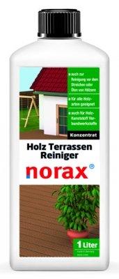 norax Holzterrassen Reiniger 1 l - Entfernt mühelos hartnäckigen Schmutz, Gebrauchsspuren & Umweltablagerungen