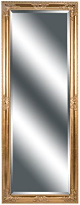 Spiegel Wandspiegel Barock antik Gold NANCY 160 x 60 cm