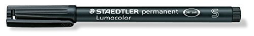 Lumocolor Folienschreiber 0,4mm permanent sw nachfüllbar
