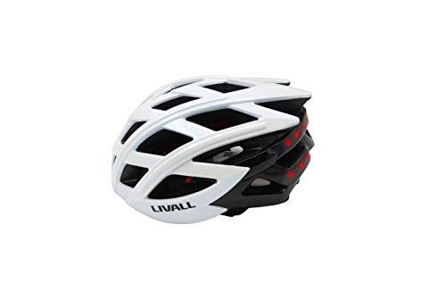 LIVALL BH60SE 白(WHITE) 自転車 ヘルメット LEDライト 方向指示器 3軸センサー 安全アラート ブルートゥース 音楽視聴 電話機能 トランシーバー GPSナビゲーション 55cm-61cm