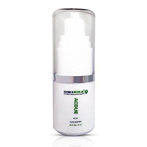 Omiera Acdue Acne Tratamiento para cicatrices e quitar manchas de acne 15 ml
