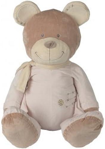 NICOTOY Peluche geante Ours Calin Rose 1 Metre - Doudou 100 cm - Enfant - 1er Age
