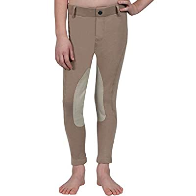 ELATION Kids Riding Breeches Girls & Boys Red Label –Classic Duff Breeches from ELATION