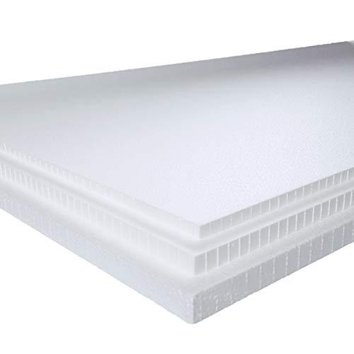 発泡スチロール 板 断熱材 15枚 1830×925×5mm 中硬さ 白色