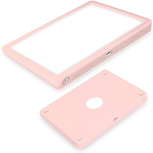 Ultra Thin Silicone Cover for Apple Magic Trackpad 2 Wireless Touchpad Protective case,Anti-dust and Anti-Scratch Wear-Resistant Carrying Silicone Skin Bag (Pink)