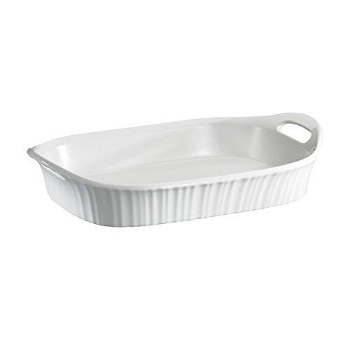 Corningware French White Oblong Casserole, 3-Quart