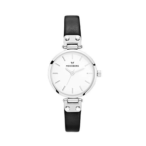 Mockberg Damen Digital Quarz Uhr mit Leder Armband MO202