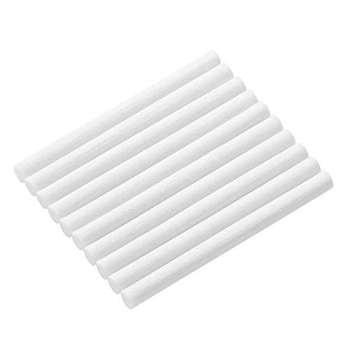 SmartDevil 10 Stück Luftbefeuchterstäbe Baumwollfilter Nachfüllstäbe Dochte Ersatz für tragbare persönliche USB-Luftbefeuchter im Büro zu Hause Schlafzimmer