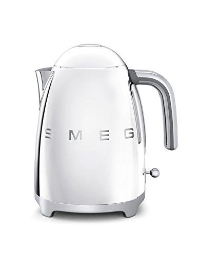 SMEG KLF01-SSEU Calentador de Agua electrico, hervidor KLF01SSEU, plastico, cromo