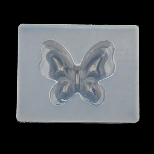 EWAT Linda mariposa silicona resina moldes pendiente collar joyería herramientas epoxi resina moldes para hacer manualidades