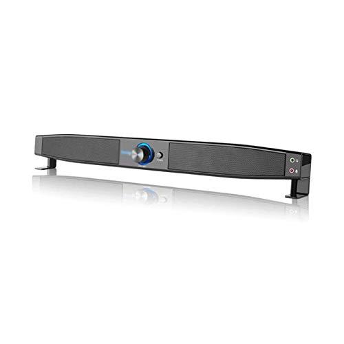 Sdesign Home Desktop SoundBar para PC TV Videojuego Tableta portátil, subwoofer Incorporado Sound Sound Sound Bluetooth Altavoz