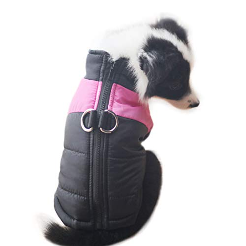PAPIEEED Winter Pet Dog Vest Clothes, Soft Dog Coat Warm Pet Jacket Apparel