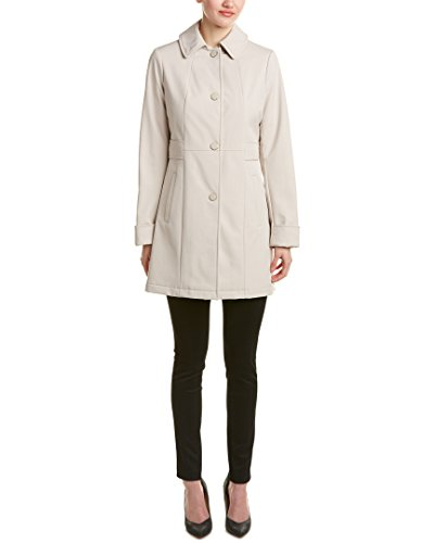 Kenneth Cole Womens New York Softshell Coat, XL Tan