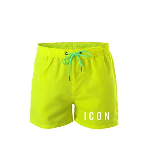 Cortos Pantalones Cortos Casuales Impresos para Hombres Pantalones Cortos Deportivos con Letras Impresas Verano Nuevos Pantalones De Playa De Secado Rápido Pantalones Cortos Par