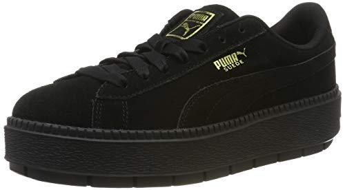 Puma Damen Platform Trace WN's Sneaker, Black Black, 39 EU