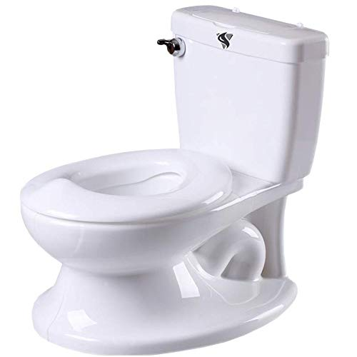 Vasino WC con suono a filo, parte superiore rimovibile, dispenser di salviette e speciale paraspruzzi per bambini. Vasino musicale Step by Step per bambini da 12 mesi a 5 anni.