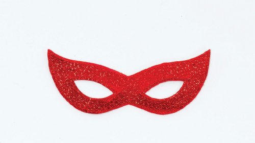 Laser Eye Mask. Red