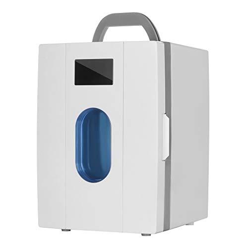 Mini-Kühlschrank 10L Haushalt kleinen Kühlschrank Dual-Use-tragbaren Auto verwenden kleinen Kühlschrank, 33 * 23 * 26cm