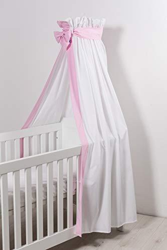 Robert Osswald Baldachim na łóżko dziecięce, 1.1.2.1-K05-14, 170 cm x 300 cm, różowy