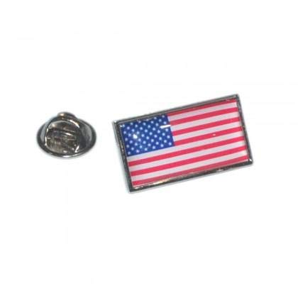 USA Stars & Stripes Flagge Anstecknadel Abzeichen