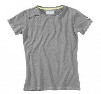 FanSport24 Kempa Core Baumwoll T-Shirt, Damen, grau Melange Größe S