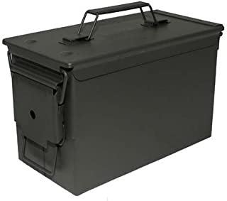 comprar comparacion MFH US - Caja de metal para munición, calibre 50 mm, M2A1