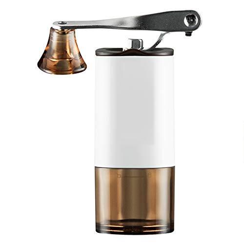 IQQI Mini manuelle Kaffeemühle, tragbare verstellbare Kaffeemühle, Waschbar, Haushaltshandbuch Grinder, Kaffeebohnen, Kräuter, Gewürze