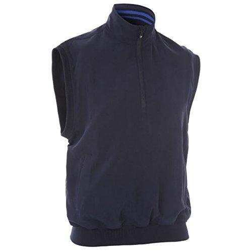 Preisvergleich Produktbild Proquip Golf Herren Aquasoft Vest Half Zip Wind Top - Marine - XXL