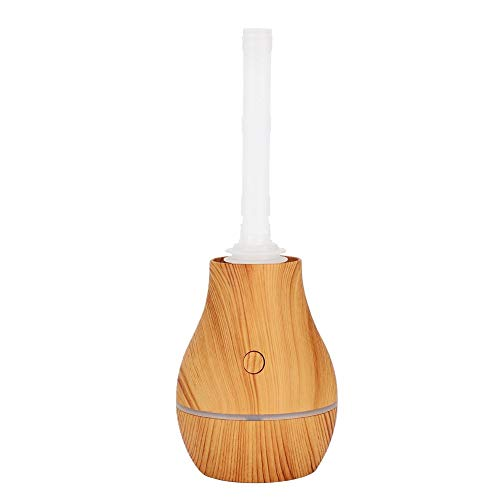 Asixxsix Humidificador de Aire, con difusor de Aroma de Grano de Madera Clara, humidificador de Niebla fría para Dormitorio casero