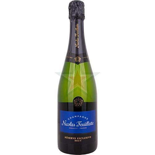 Nicolas Feuillatte Champagne Brut Réserve 12,00% 0,75 Liter