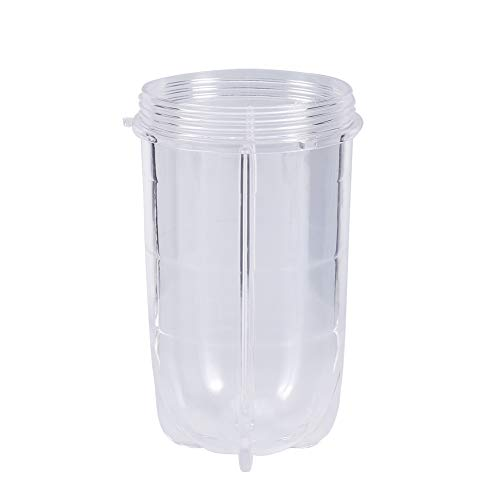Transparent Plastic Tall and Short Best Friend Cups Blender Juicer Tall Cup Replacement Parts Accessories (high)