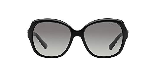 Vogue Eyewear 0Vo2871S W44/11 56 Occhiali da Sole, Nero (Black/Gray Gradient), Donna