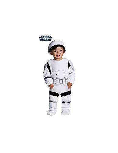 DISBACANAL Disfraz Stormtrooper bebé - -, 1-2 años
