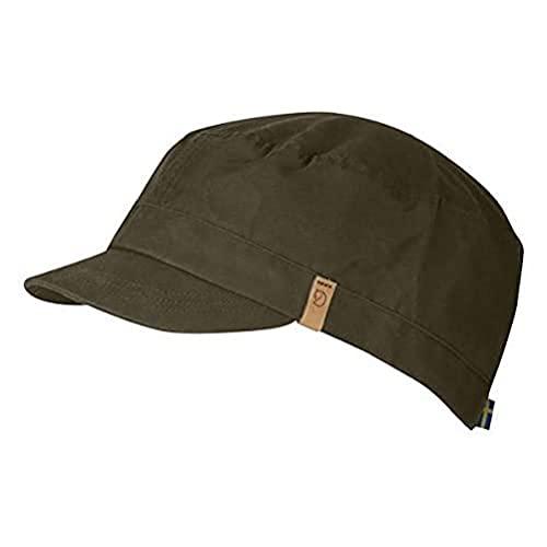 FJÄLLRÄVEN Singi Trekking Cap Chapeau Dark Olive FR: L (Taille Fabricant: L)