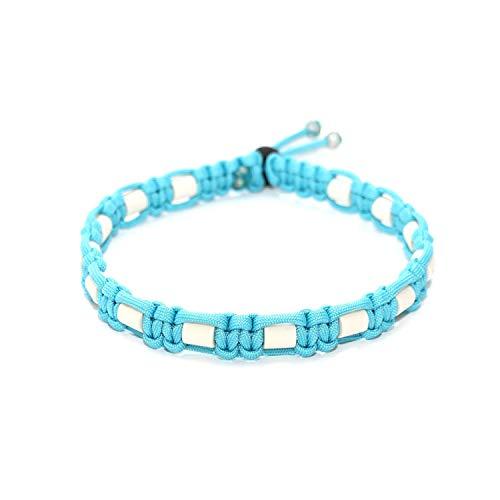 EM-Keramik Halsband, EM Keramik, Halsband EM Keramik, Hund, Hundehalsband, EM Keramik Farbe: Neon Türkis