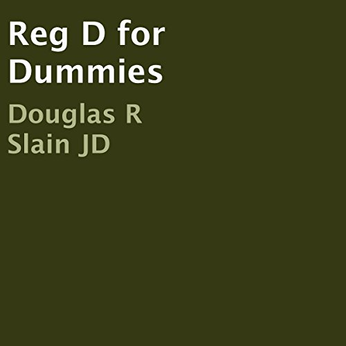 Reg D for Dummies audiobook cover art