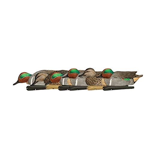 Avian-X Top Flight Duck Green Wing Teal Floater Decoy (6 Pack), Brown