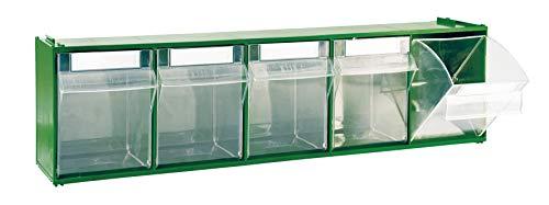 Cassettiera Mobil Plastic Modello 'Madia 3' - 5 Cassetti - Verde
