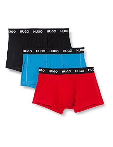 HUGO Herren TRUNK 3er Pack Boxershorts, Open Miscellaneous962, M