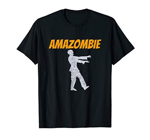 Amazombie Coworker Gift Associate Warehouse Zombie T-Shirt