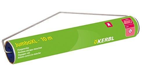 Kerbl 299789 Stall Fliegenrolle Jumbo mit Lockstoff, Größe XL, 10 m x 40 cm