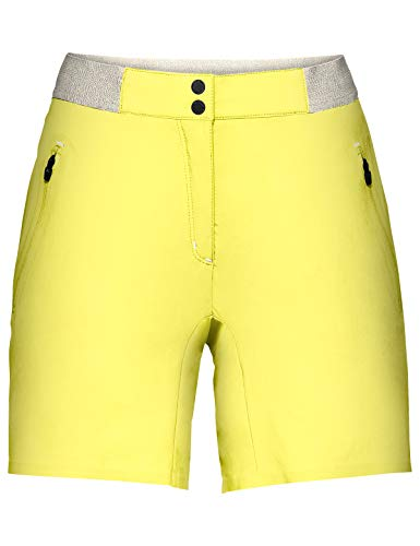 VAUDE Damen Hose Women's Scopi LW Shorts II, Wanderhose, mimosa, 36, 409619780360