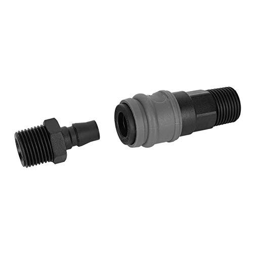 Conector rápido Racores neumáticos Conector rápido autobloqueante para gas comprimido(G1/4' (20))