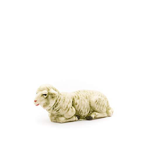 MAROLIN Schaf liegend, zu 12cm Fig. (Kunststoff)