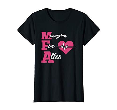 Geschenk-Idee für MFA und Arzt-Helferin - Motiv-Sprüche T-Shirt