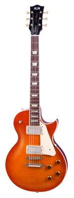 FGN FGLS10FCBP Neo Classic LS 10 Faded Plain Top Gitarre kirsche-burst