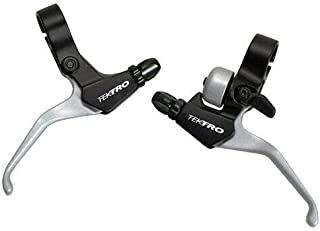 Tektro CL525 RS, CL520 RS MTB BMX Hybrid Brake Lever with Bell, Silver, MH1871-N